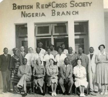 Members of the Nigeria Branch of the British Red Cross