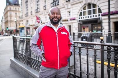 Emannuel Cudjoe, British Red Cross Emergency Response volunteer