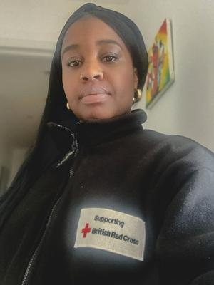 Camille St-Omer Donaldson, British Red Cross supporter experience project lead