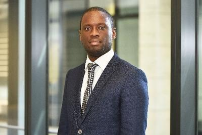 Kwesi Quartey, British Red Cross international finance assistant and BAME co-chair
