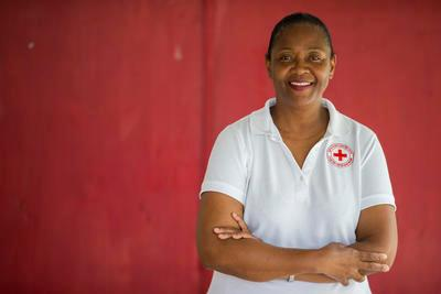 Helen Frett, former director of the British Virgin Islands Red Cross