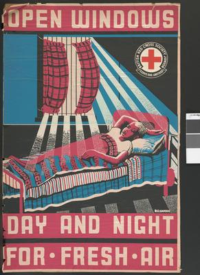 poster: 'Open Windows Day and Night For Fresh Air'