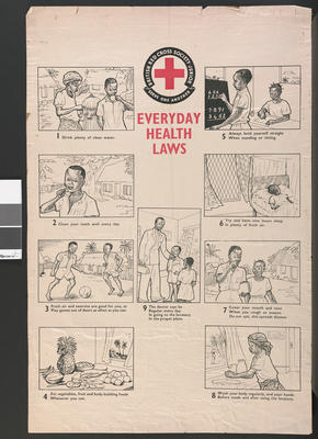poster: 'Everyday Health Laws'