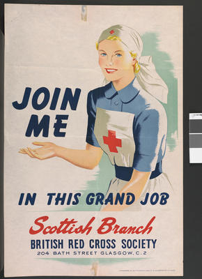 Scottish Branch recruitment poster