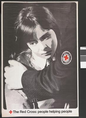 poster: 'The Red Cross: People Helping People'