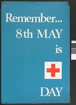 Red Cross Week poster