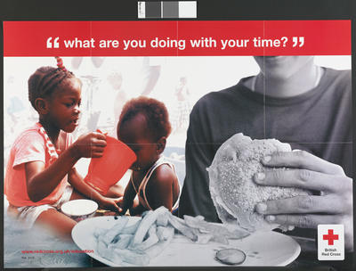 poster: 'What are you doing with your time?'