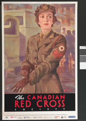'Women of the Canadian Red Cross' poster
