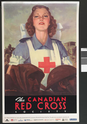 Women of the Canadian Red Cross' poster