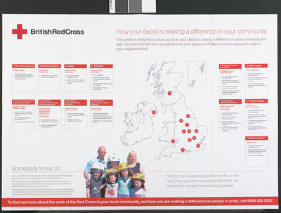 British Red Cross Tesco Charity of the Year 2007 poster