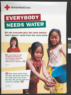 Poster: Water Aid poster