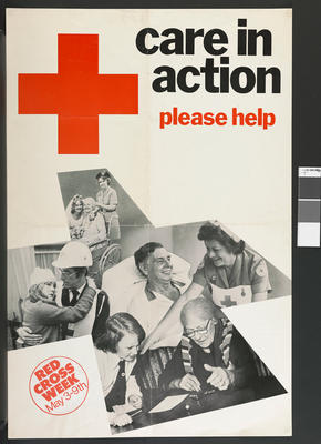 poster advertising Red Cross Week May 3-9th