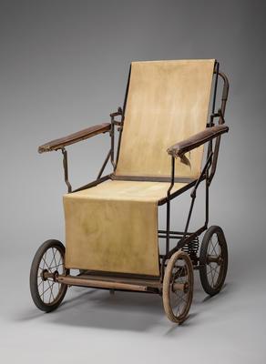 canvas wheelchair