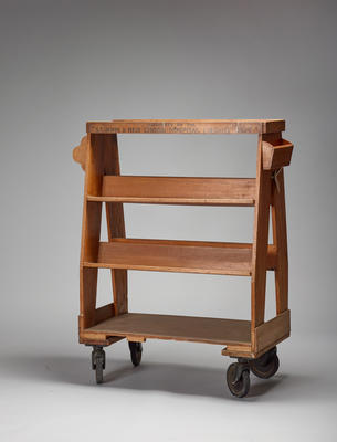 Hospital Library Service trolley
