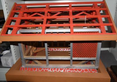 Wooden housing model