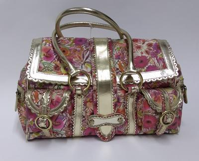 Limited edition, floral handbag designed by Julien MacDonald in aid of the British Red Cross