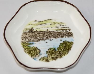Coalport Fine Bone China tray: 'Old Geneva'