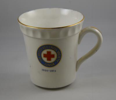 Mug: The Junior British Red Cross 50th Anniversary