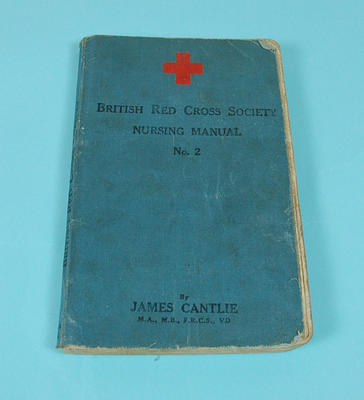 BRCS Nursing Manual No.2 belonging to Nelly Robbins