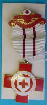 Proficiency badge in Red Cross Nursing