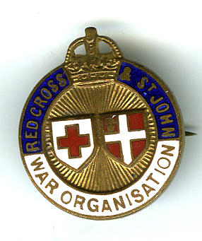 Joint War Organisation enamel badge