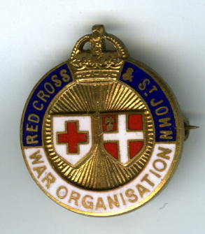 Joint War Organisation badge.