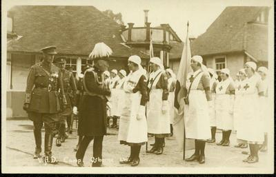 photograph of the VAD Camp at Osborne, Isle of Wight