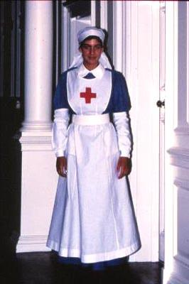 Reproduction Member's Uniform: blue dress