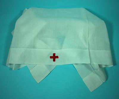 Member's indoor uniform white headveil