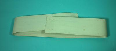 White members indoor uniform belt