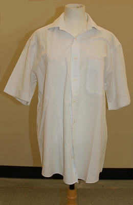 Member's uniform white men's shirt