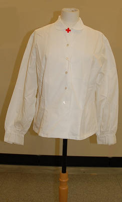Member's uniform ladies white shirt