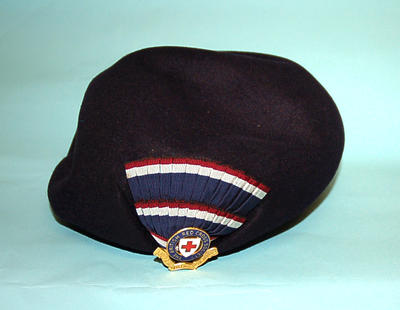 Member's uniform navy blue beret