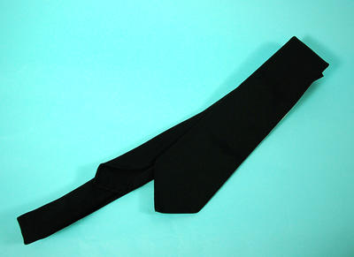 Member's black tie