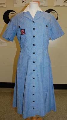 Member's indoor uniform Norman Hartnell Type 2 dress
