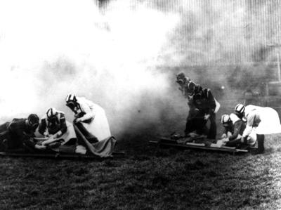 Air Raid Precautions (ARP) training exercise