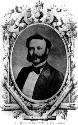 Portrait of Henry Dunant