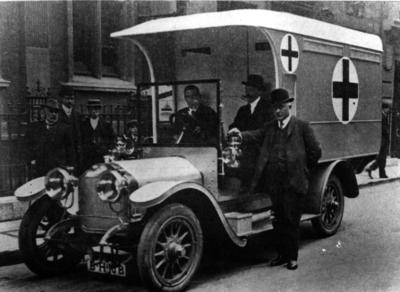 First World War ambulance; IN0066