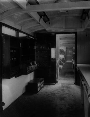 Interior of the Princess Christian hospital train; IN0078