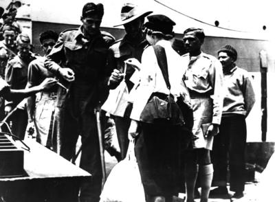 Repatriation of Second World War prisoners of war