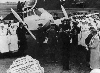 The Red Cross Air Ambulance 'Florence Nightingale'