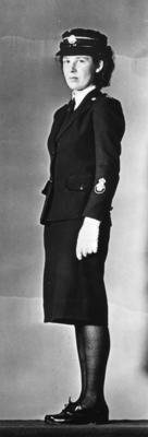 Uniform worn by female members attached to the Indian medical services