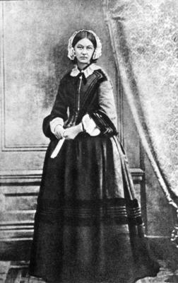 Full length portrait of Florence Nightingale
