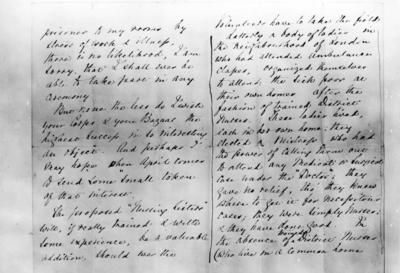 Letter from Florence Nightingale