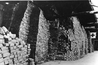 Food parcels for prisoners of war stockpiled in Geneva