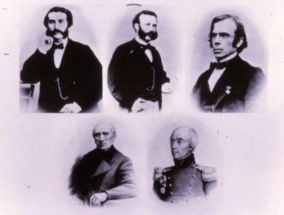Portraits of the Committee of Five