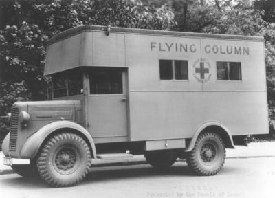 Flying column vehicle