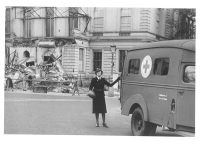 Mrs June de Trafford, Transport of wounded Department