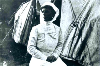 Princess Alice, who headed a team of nurses during the Balkan War, 1912-13