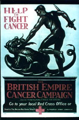Poster for the British Empire Cancer Campaign